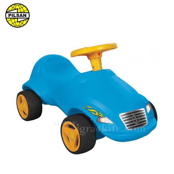 Pilsan - Кола за бутане с крачета Fast синя 07820