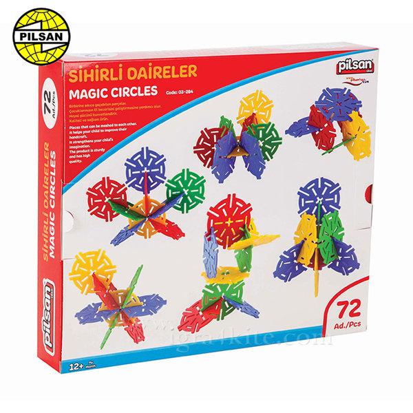 Pilsan - Детски конструктор Magic Circles 03294