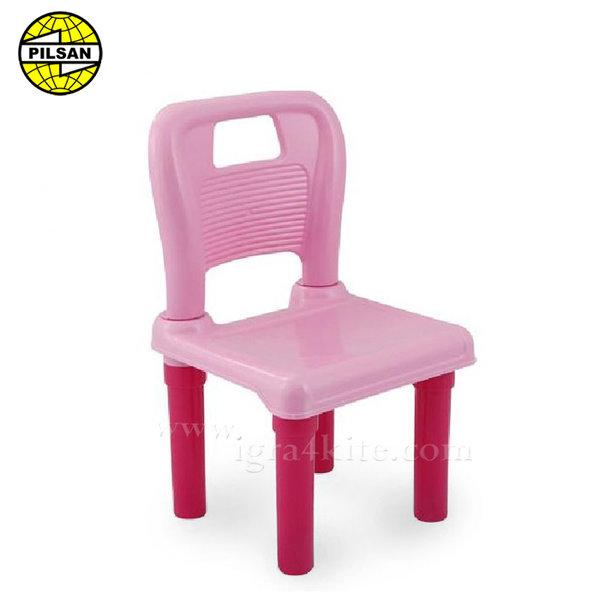 Pilsan - Детско столче Розово 03416