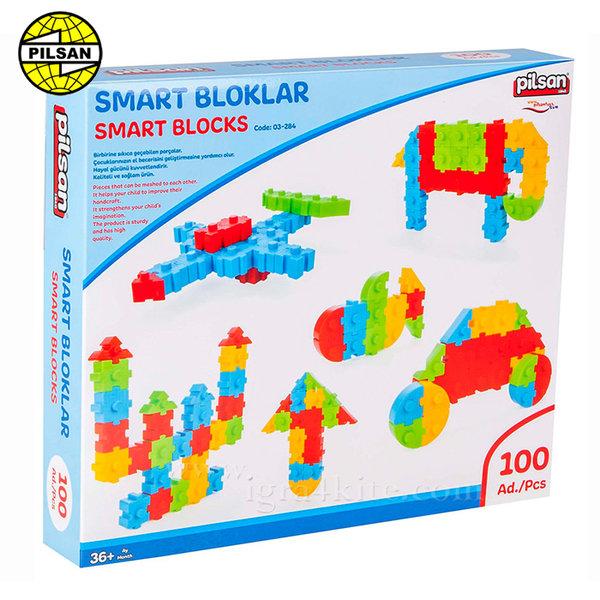 Pilsan - Детски строител Smart Blocks 03295