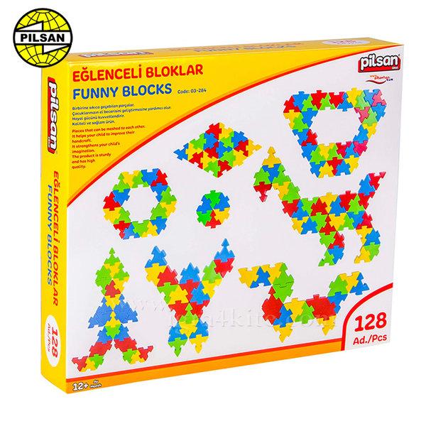 Pilsan - Детски строител Funny Blocks 03298