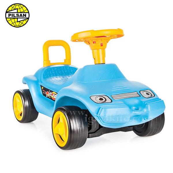 Pilsan - Кола за бутане с крачета Jet Car Синя 06806