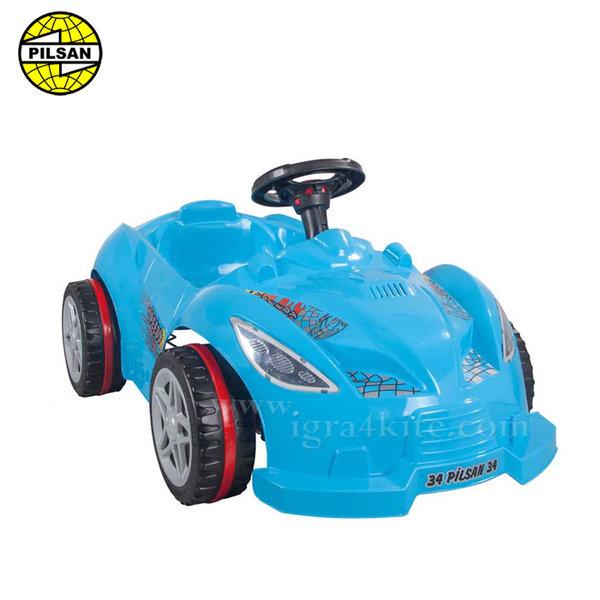 Pilsan - Детска кола с педали Speedy 07312 Синя
