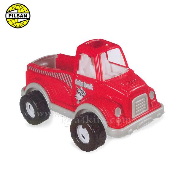 Pilsan - Детски камион 60см Delta Червен 06506