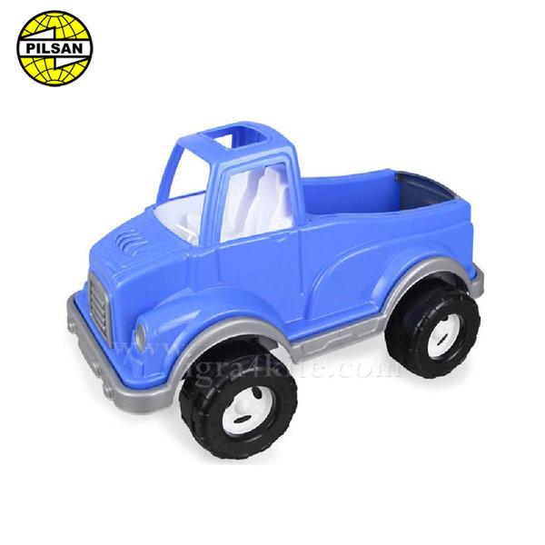 Pilsan - Детски камион 60см Delta Син 06506