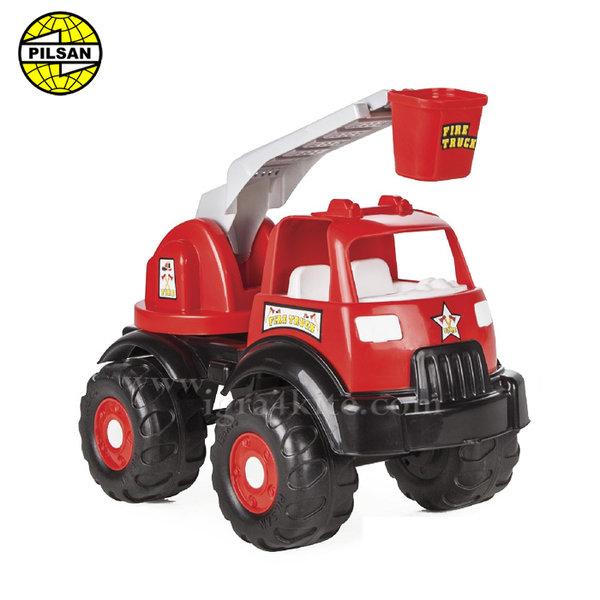 Pilsan - Детска пожарна с кран 44см 06519