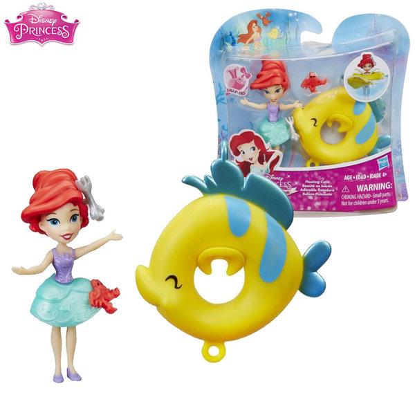 Disney Princess - Мини кукла Ариел с пояс b8966