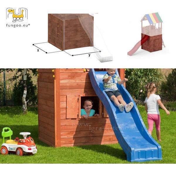 Fungoo - Модул Дървена къщичка HIDE&PLAY 01135