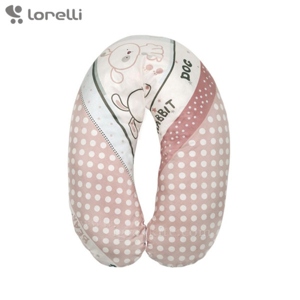 Lorelli - Възглавница за кърмене Приятели екрю