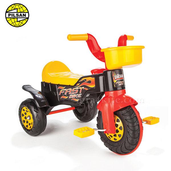 Pilsan - Детско моторче с педали Fast 07117