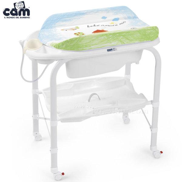 Cam - Анатомична вана с шкаф и подложка за повиване Cambio c209/222
