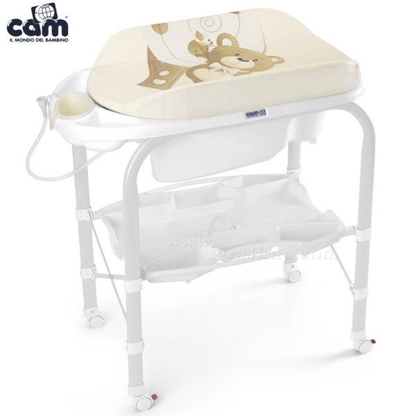 Cam - Анатомична вана с шкаф и подложка за повиване Cambio c209/219