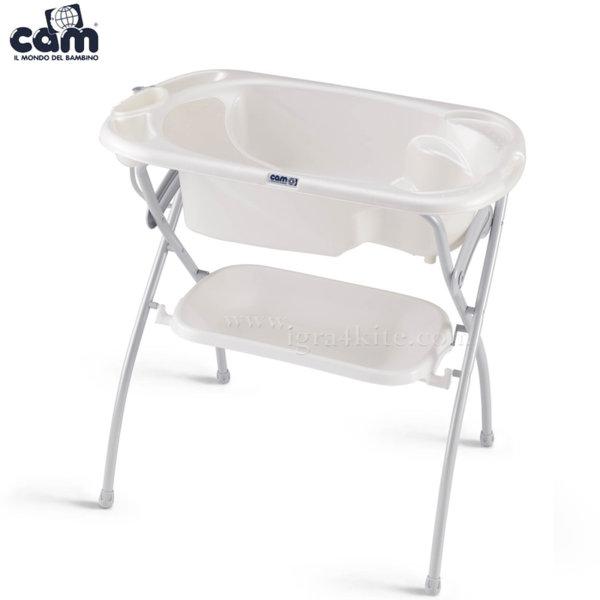 Cam - Анатомична вана със стойка Kit Bagno c525