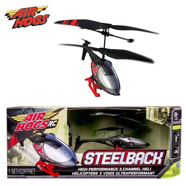 Air Hogs - Хеликоптер с дистанционно управление Steelback 6023766