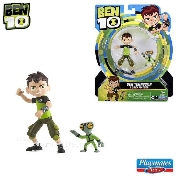 Ben 10 - Екшън фигура Бен Тен Ben & Grey Matter 76100