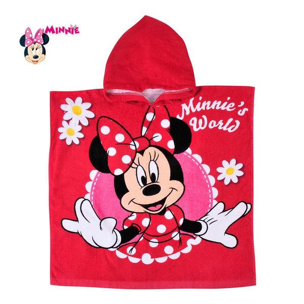 Disney Minnie Mouse - Детско хавлиено пончо Мини Маус 290716