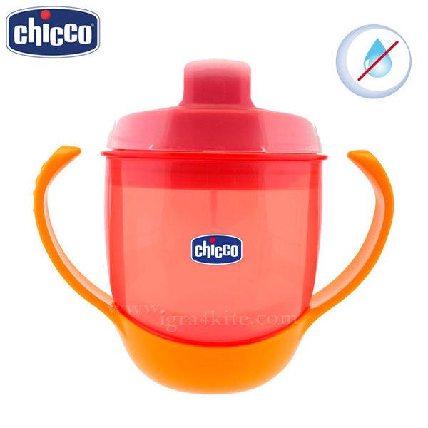 Chicco - Бебешка неразливаща се чаша 180мл. 12+ месеца 6824.7