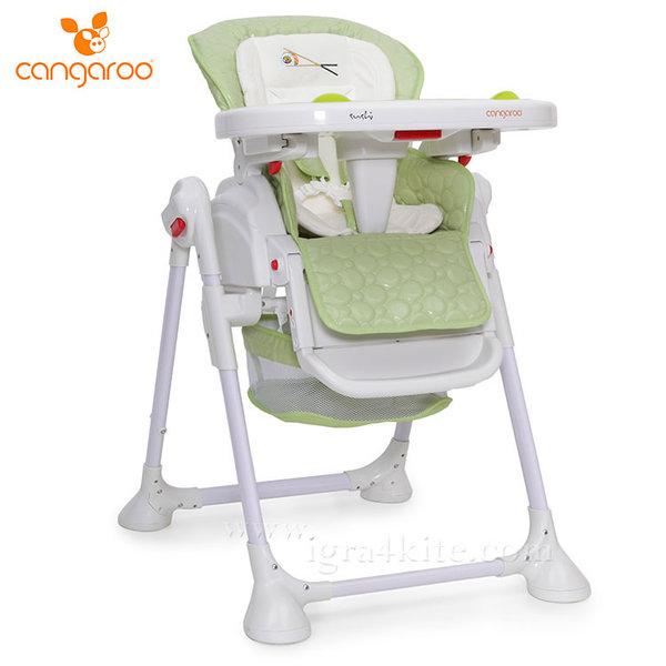 Cangaroo - Детски стол за хранене Sushi зелен 103256