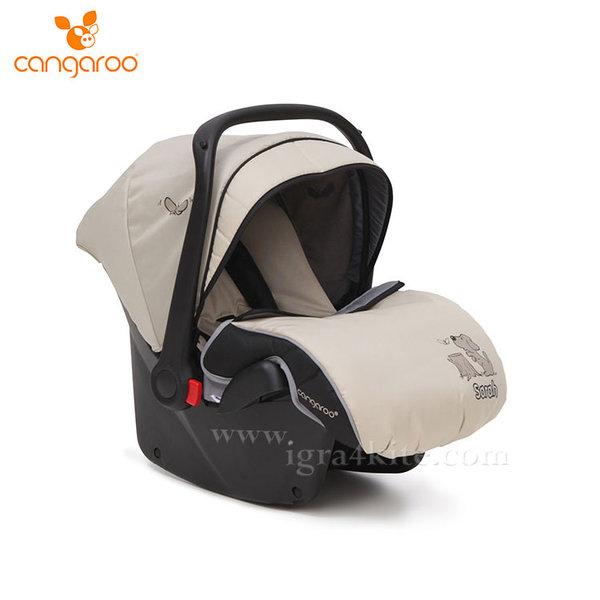 Cangaroo - Столче за кола кошница Sarah каки (0-13кг) 103087