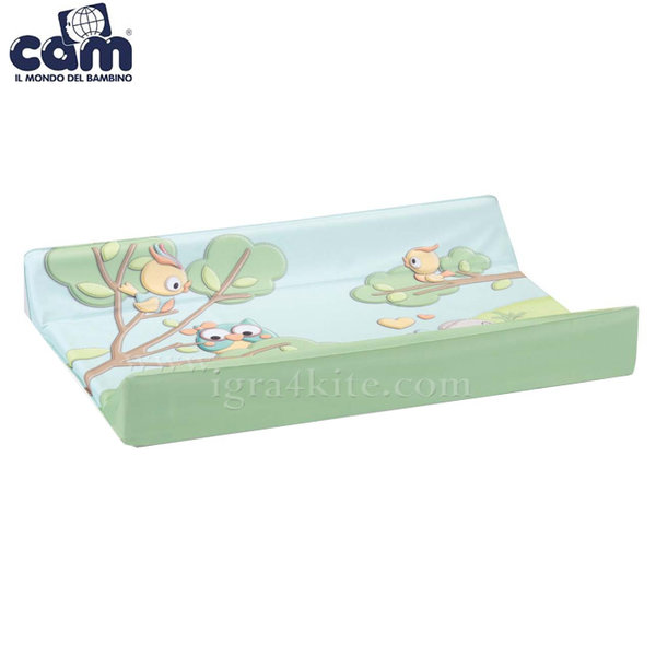 Cam - Подложка за повиване с кукички за поставяне на легло Babyblock V291/225