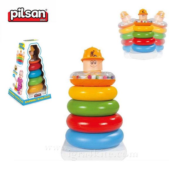 Pilsan - Пирамида с цветни рингове 03267