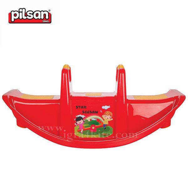 Pilsan - Детска люлка за две деца 06177 червена