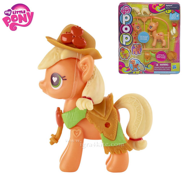 My Little Pony - Сглоби своето сладко пони Applejack B0370