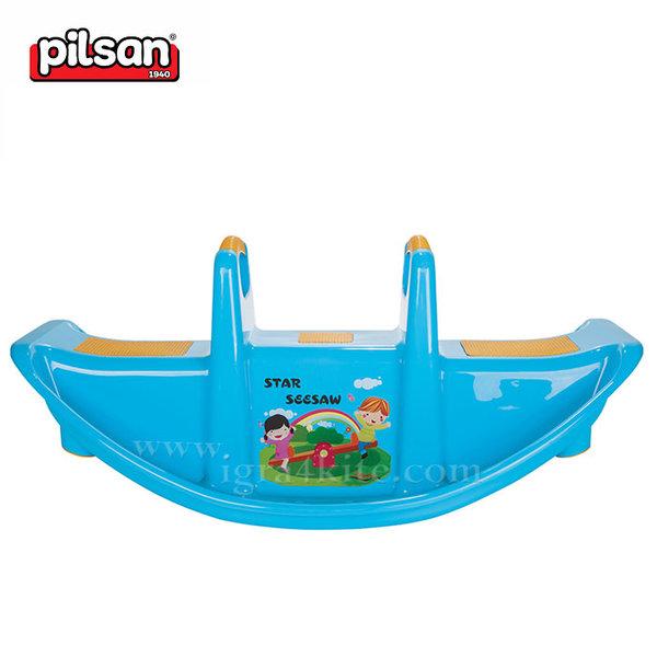 Pilsan - Детска люлка за две деца 06177 синя