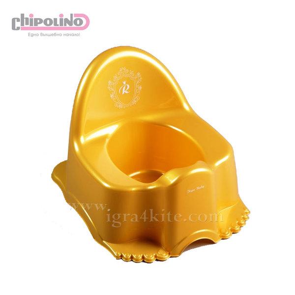 Chipolino - Бебешко гърне Royal Baby златисто