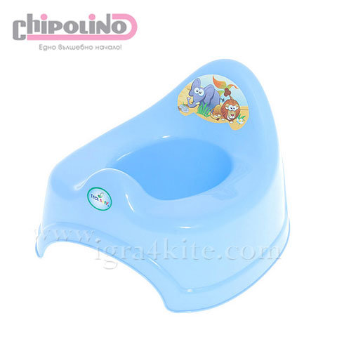 Chipolino - Бебешко анатомично гърне Сафари синьо