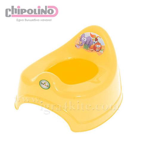 Chipolino - Бебешко анатомично гърне Сафари жълто