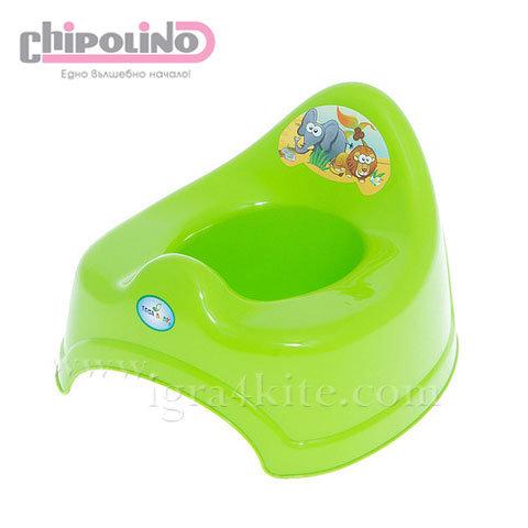 Chipolino - Бебешко анатомично гърне Сафари зелено