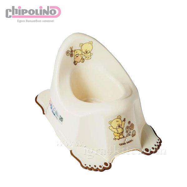 Chipolino - Бебешко анатомично гърне Мече бежово