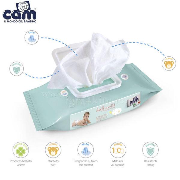 Cam - Бебешки мокри кърпички Sofficiotte 144бр. V436