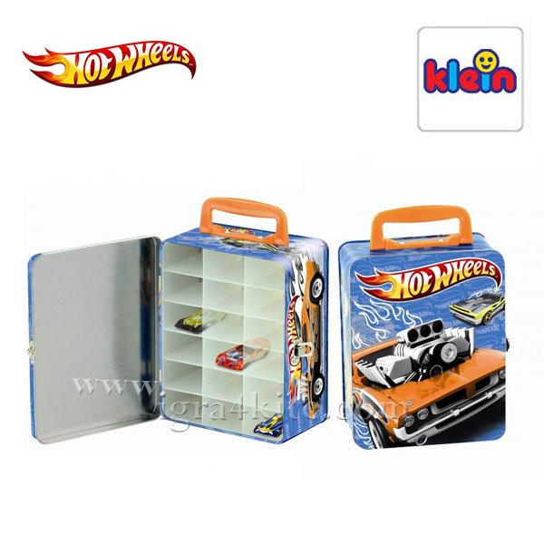 Klein - Кутия за съхранение на коли Hot Wheels