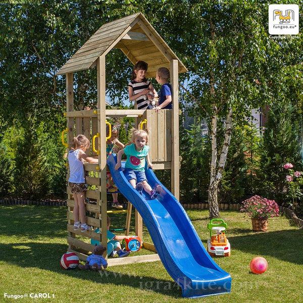 Fungoo - Детска площадка с пързалка Carol1 03030