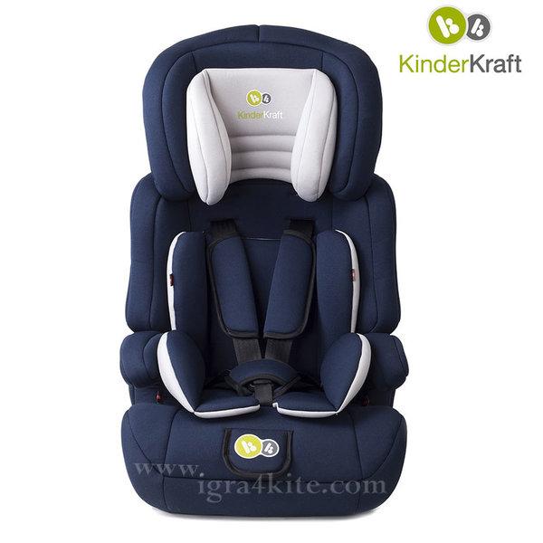 KinderKraft - Столче за кола Comfort UP 9-36 kg синьо 99183