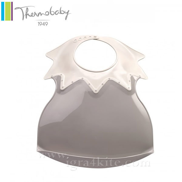 Thermobaby - Пластмасов лигавник Arlequin сив