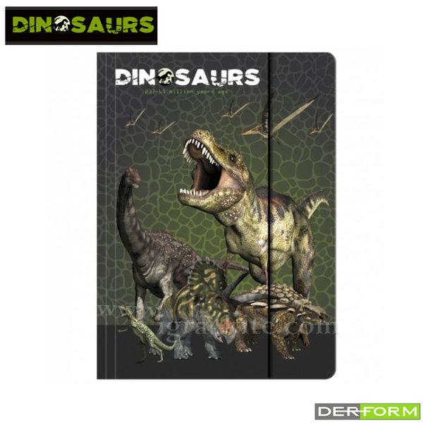 Dinosaurs - Папка с ластик Дино 48465