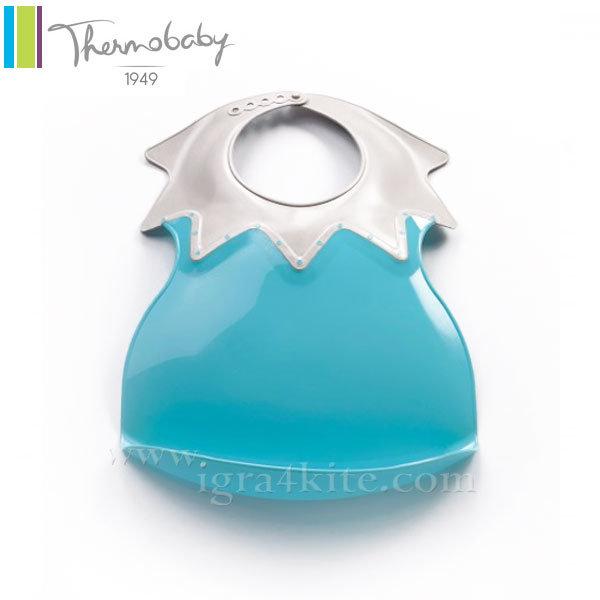 Thermobaby - Пластмасов лигавник Arlequin тюркоаз