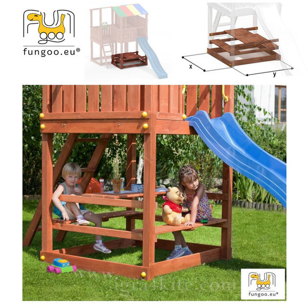 Fungoo - Модул Маса с пейки Free Time за Kingdom 01325