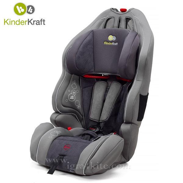 KinderKraft - Столче за кола Smart UP 9-36 kg сиво 99188