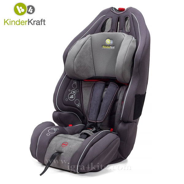 KinderKraft - Столче за кола Smart UP 9-36 kg графит 99189
