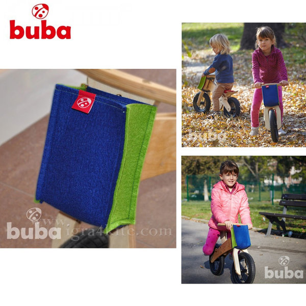 Buba - Чантичка за балансиращо колело Explorer синя
