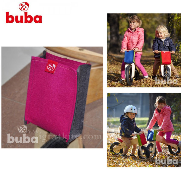 Buba - Чантичка за балансиращо колело Explorer розова