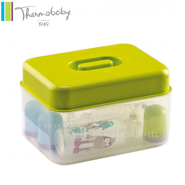 Thermobaby - Стерилизатор за бебешки шишета 2в1 зелен