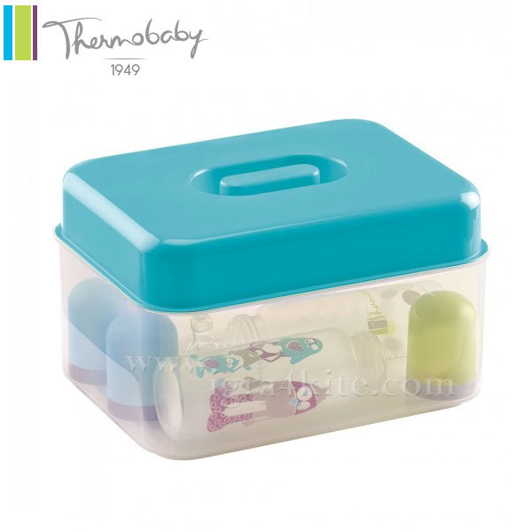 Thermobaby - Стерилизатор за бебешки шишета 2в1 тюркоаз