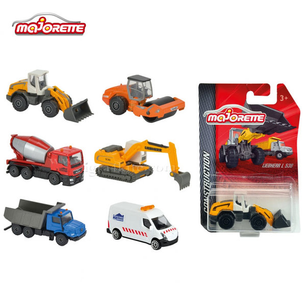 Majorette - Строителни машини в блистер 212057281
