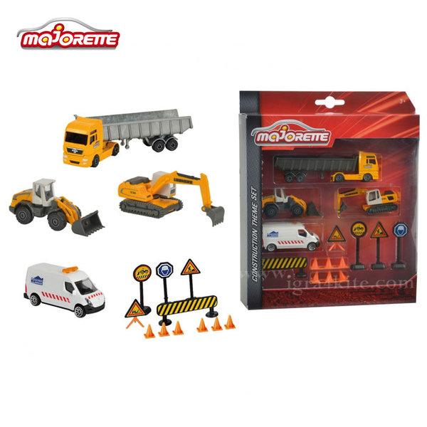 Majorette - Комплект строителни машини 57971