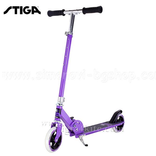 Stiga - Детски скутер Curver 145 S Purple 7426-04